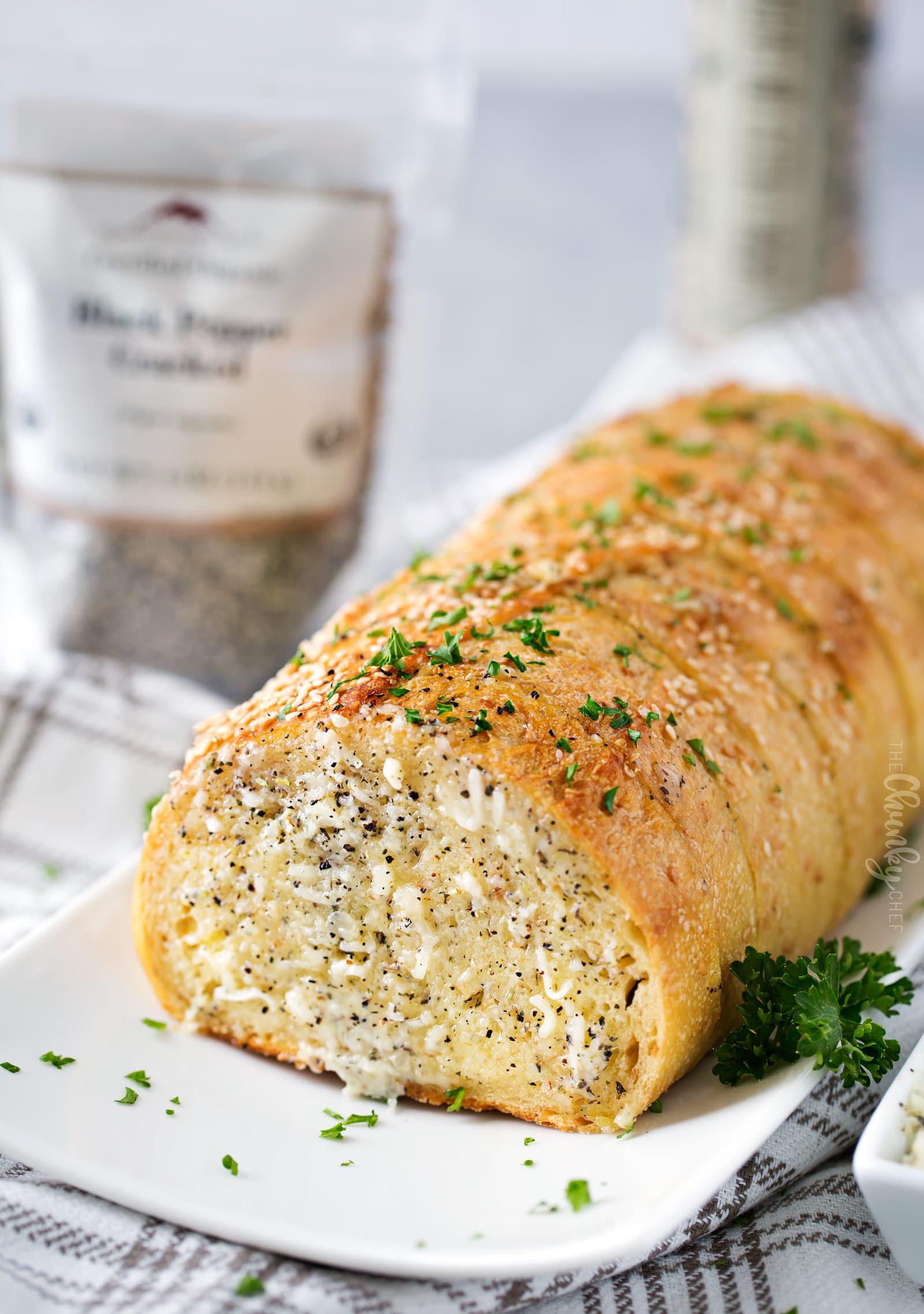 Make Garlic Bread  Homemade Garlic Bread with a cheesy option The Chunky Chef