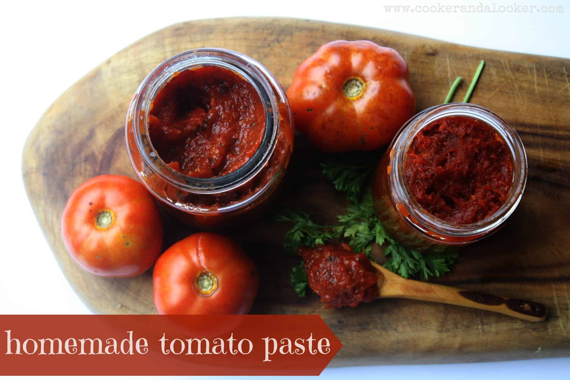 Make Tomato Sauce From Tomato Paste  the fruits of my labour
