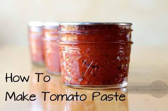 Make Tomato Sauce From Tomato Paste  Home Made Tomato Paste