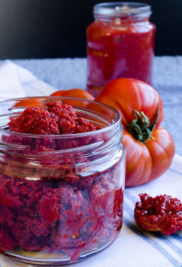 Make Tomato Sauce From Tomato Paste  Homemade Tomato Paste Give Recipe