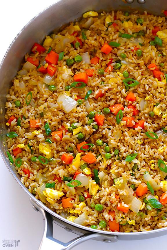 Making Fried Rice  Fried Rice