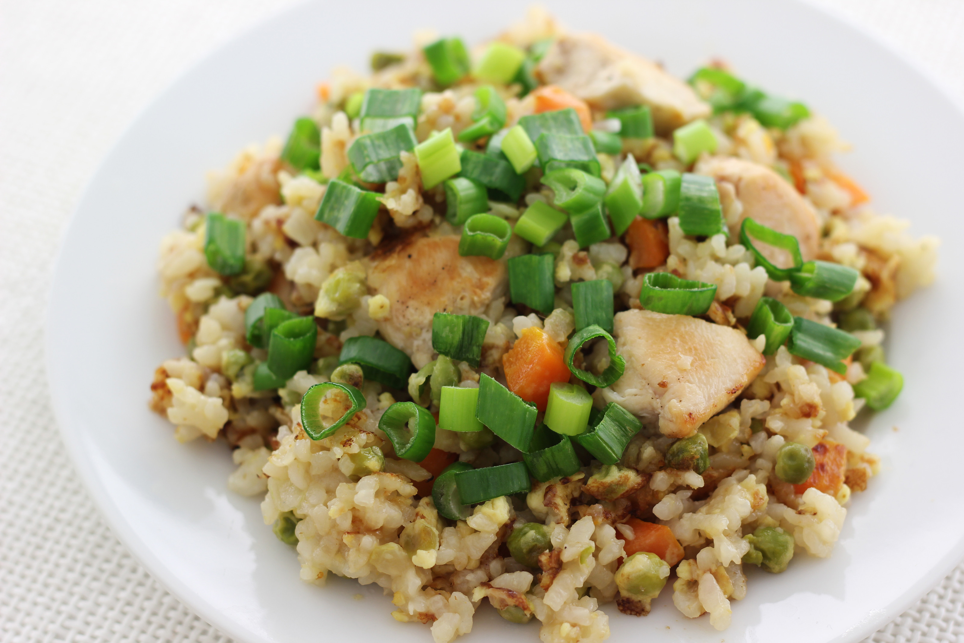 Making Fried Rice  How to Make Chicken Fried Rice with wikiHow