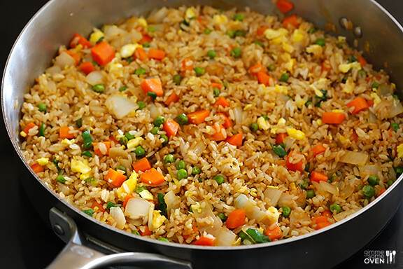 Making Fried Rice  The BEST Fried Rice