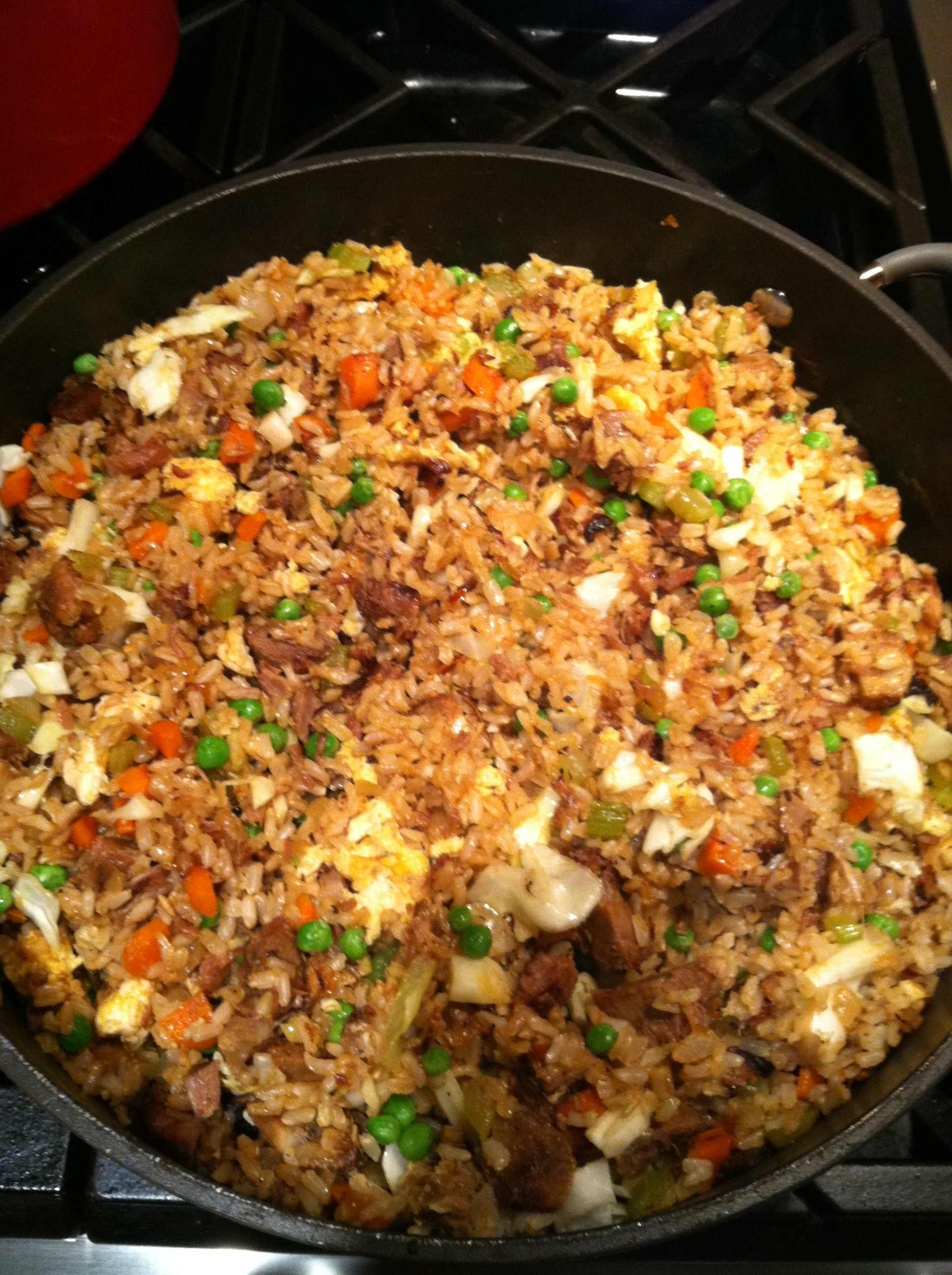 Making Fried Rice  The Best Fried Rice You'll ever make