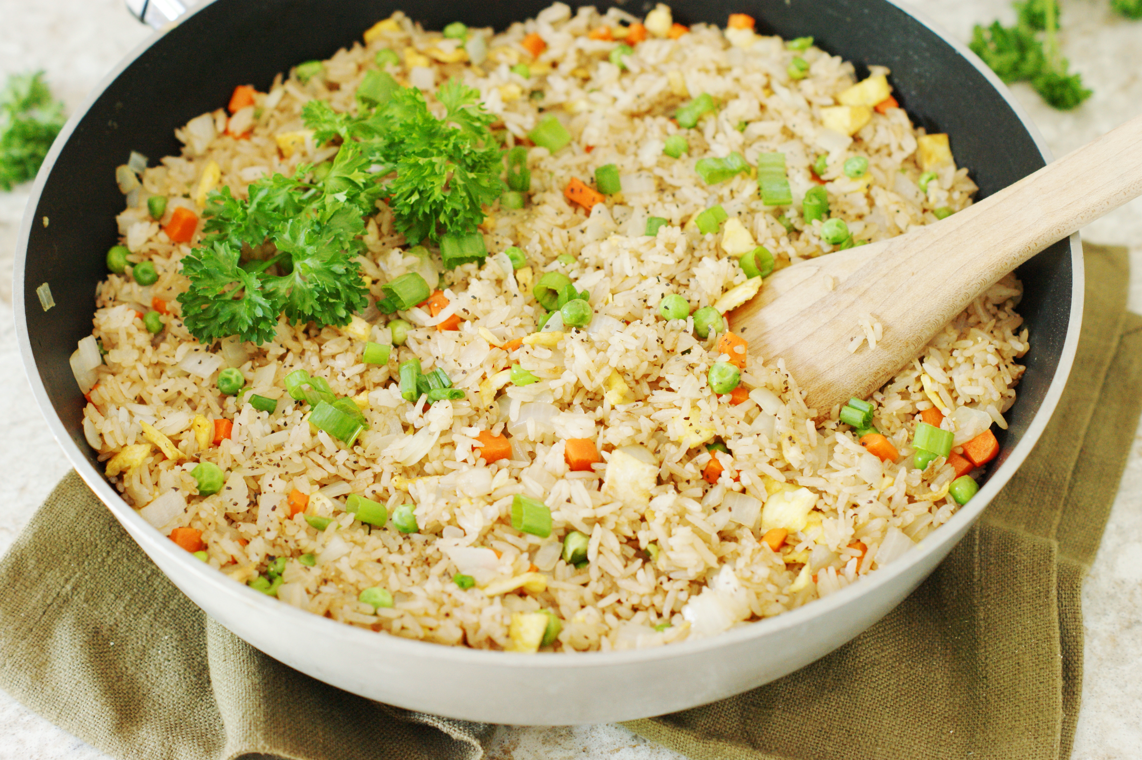 Making Fried Rice  How To Make Fried Rice Genius Kitchen