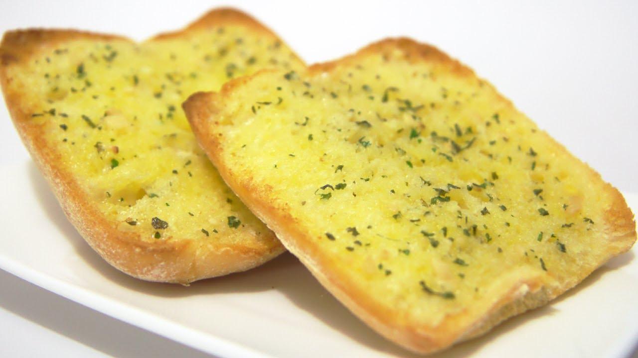 Making Garlic Bread  How To Make Garlic Bread Video Recipe