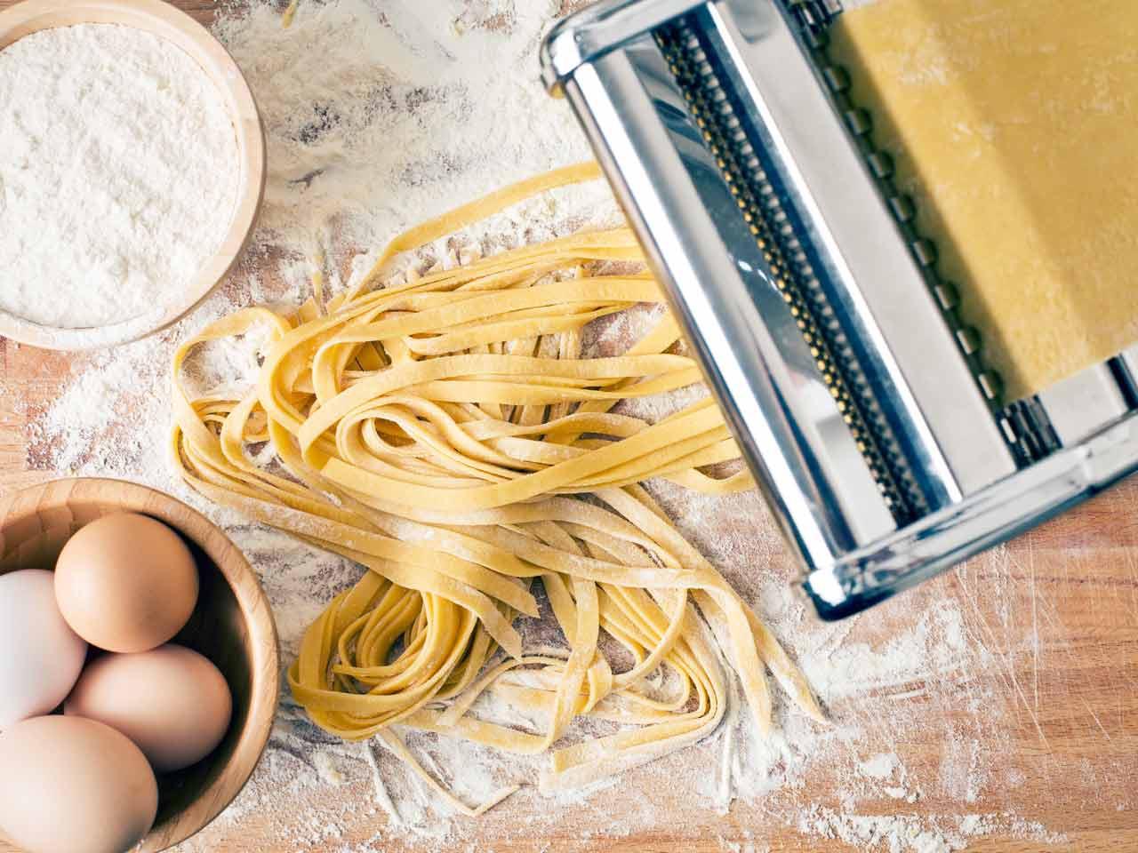 Making Homemade Pasta  How to make pasta Saga