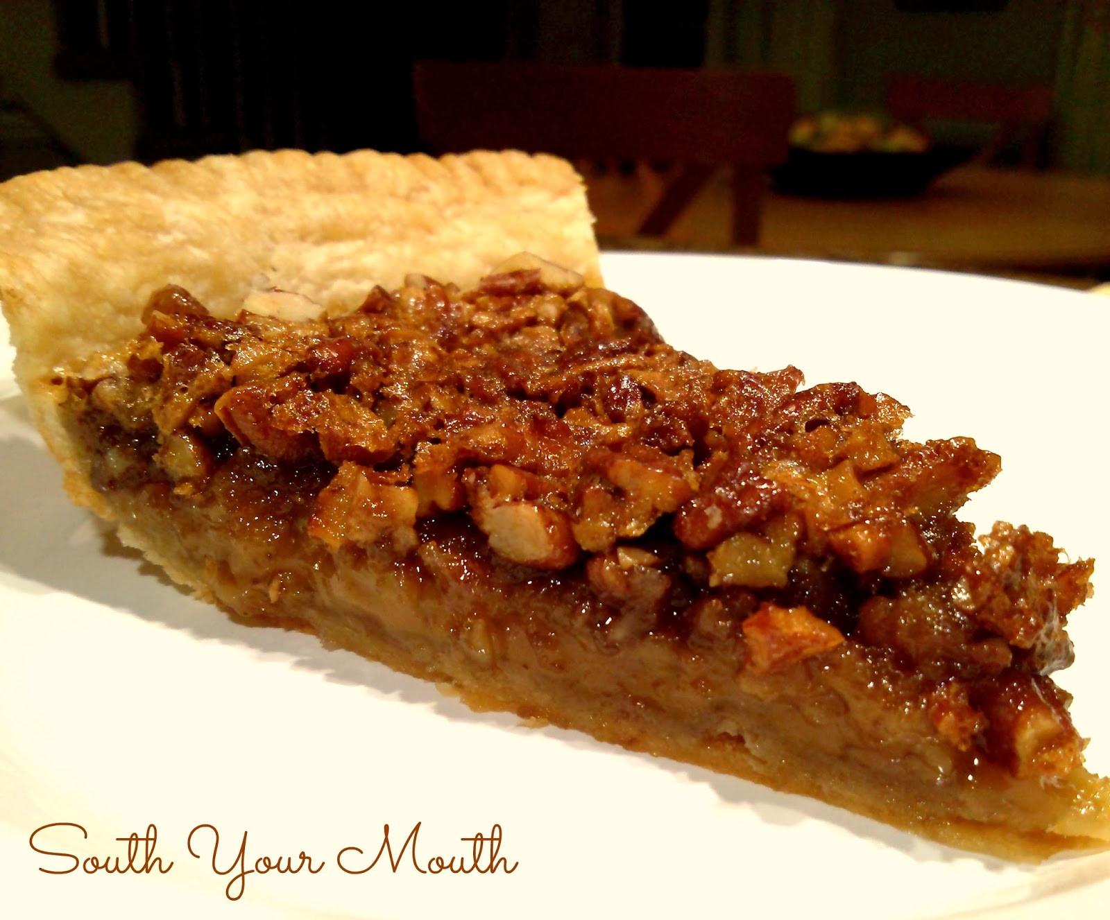 M&Ms Pecan Pie  South Your Mouth Classic Pecan Pie