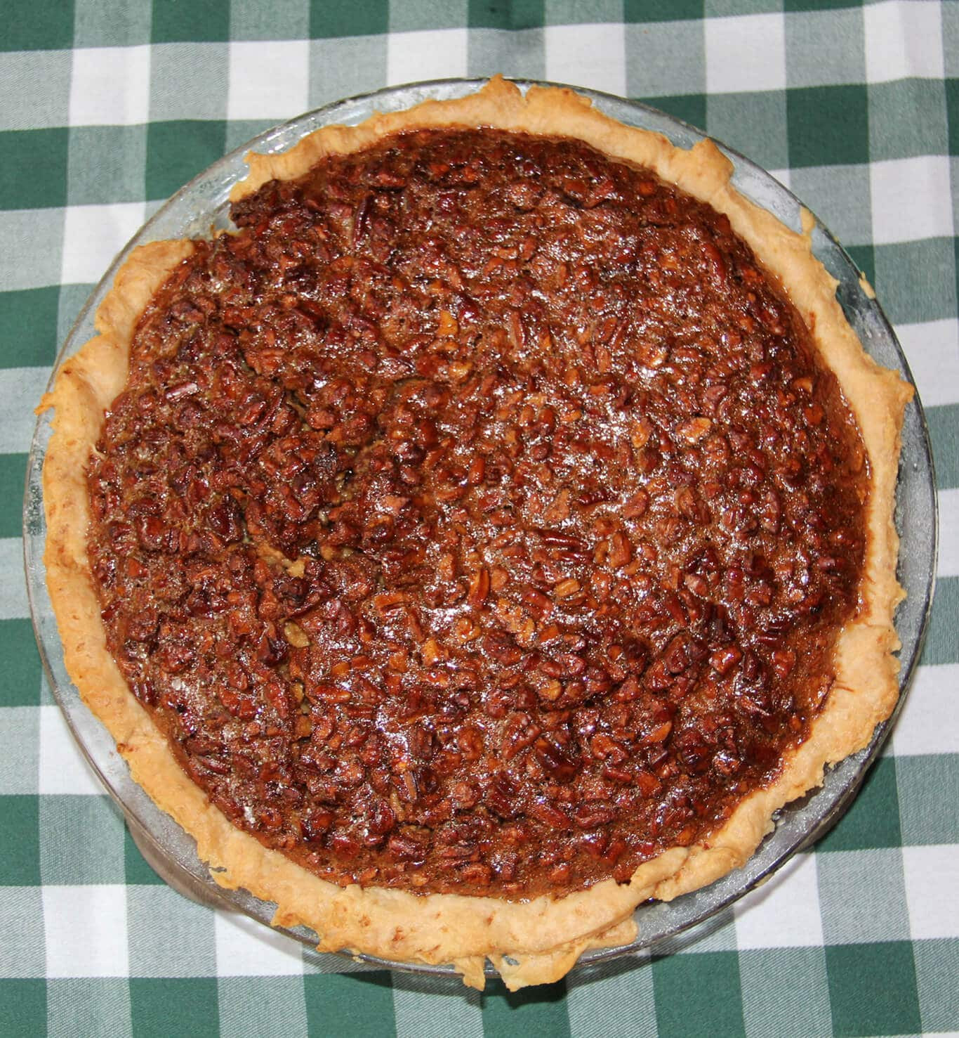 M&Ms Pecan Pie  Southern Pecan Pie made with Real Cane Syrup for Richer Flavor