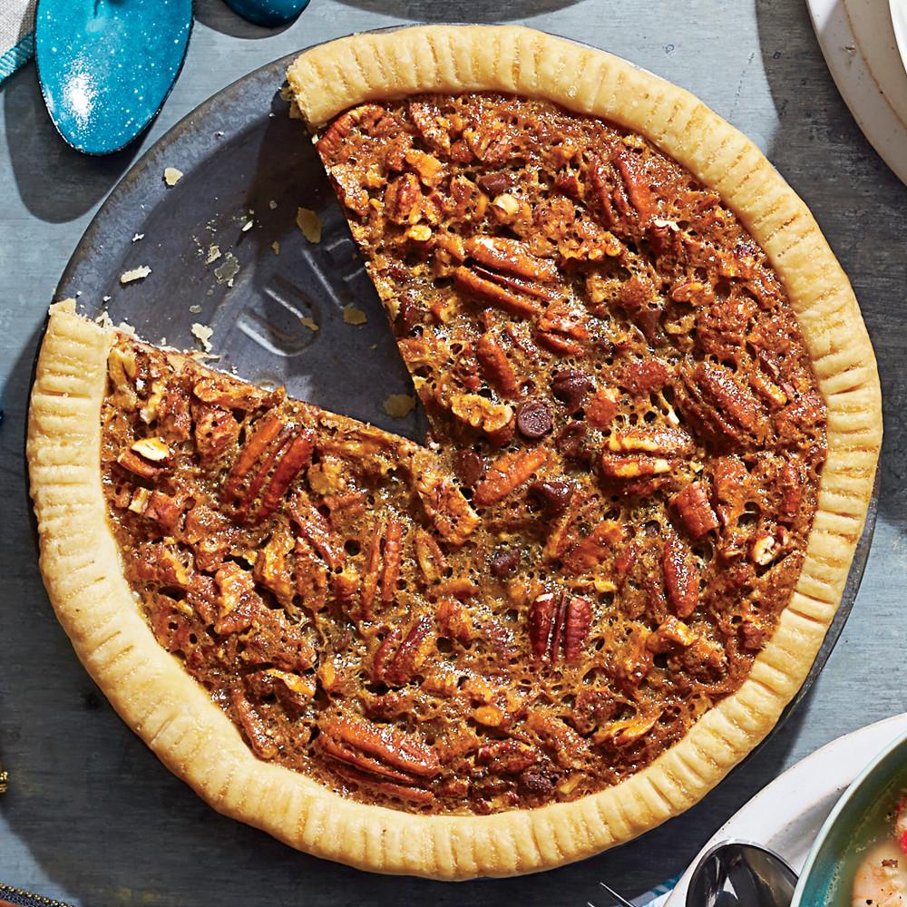 M&Ms Pecan Pie  Chocolate Bourbon Pecan Pie Recipe
