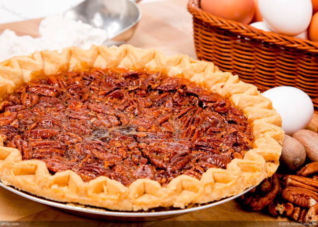 M&Ms Pecan Pie  Georgia Pecan Pie Recipe