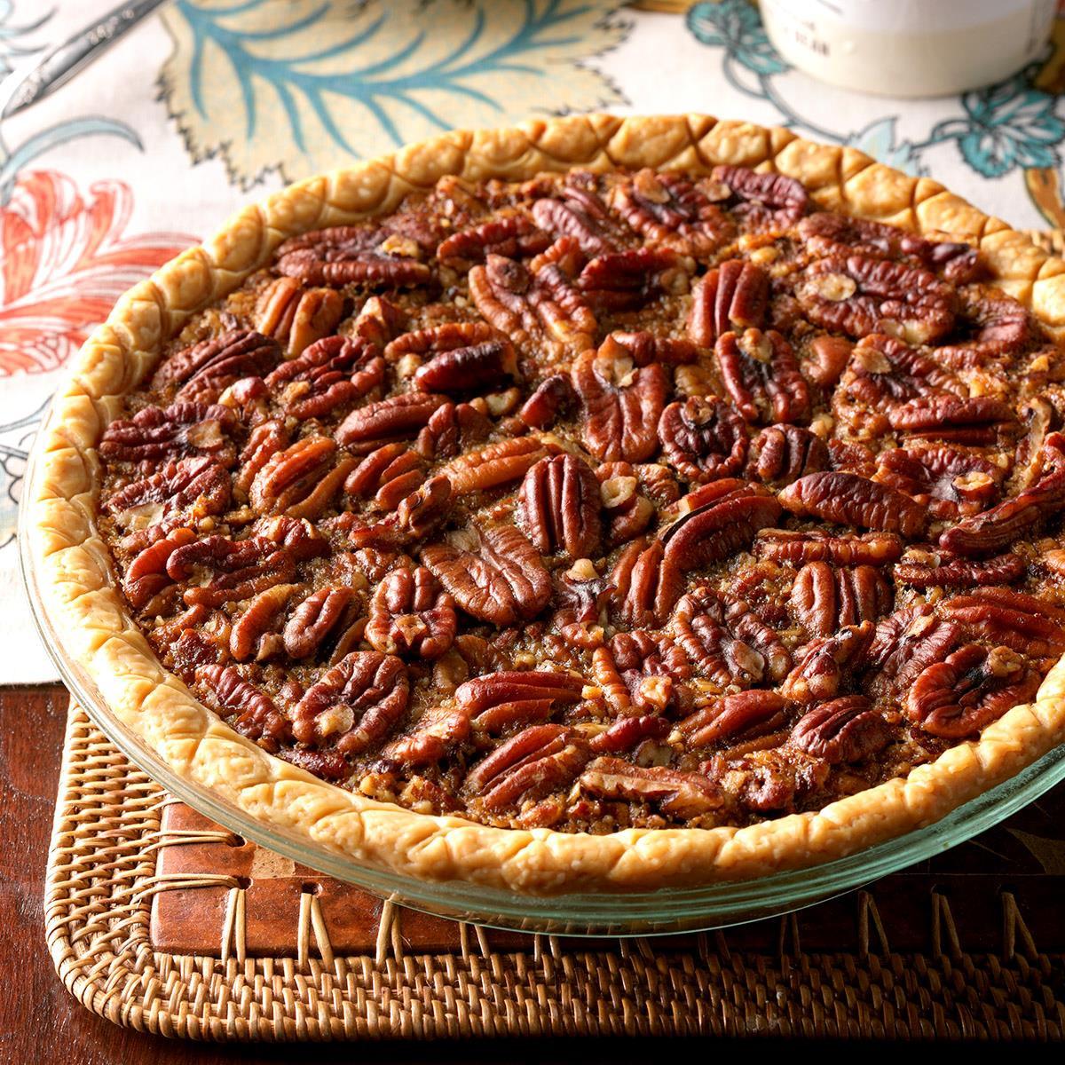 M&Ms Pecan Pie  Easy Bourbon Pecan Pie Recipe