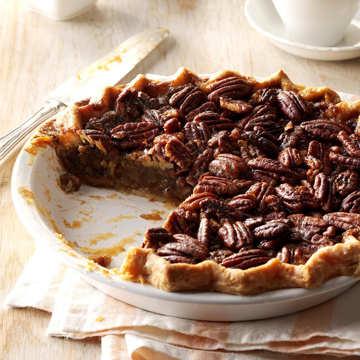 M&Ms Pecan Pie  Honey Pecan Pie Recipe