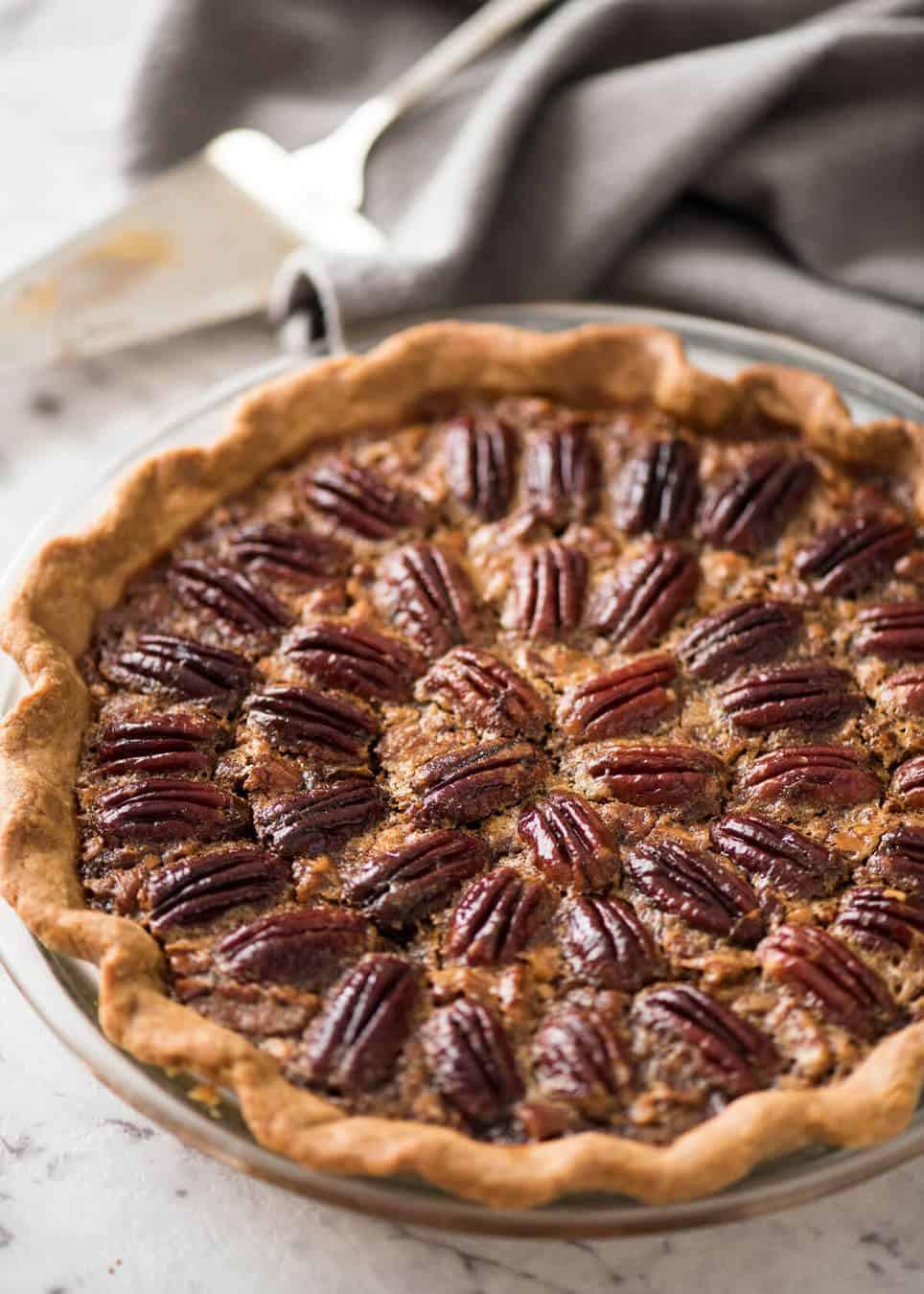 M&Ms Pecan Pie  Pecan Pie