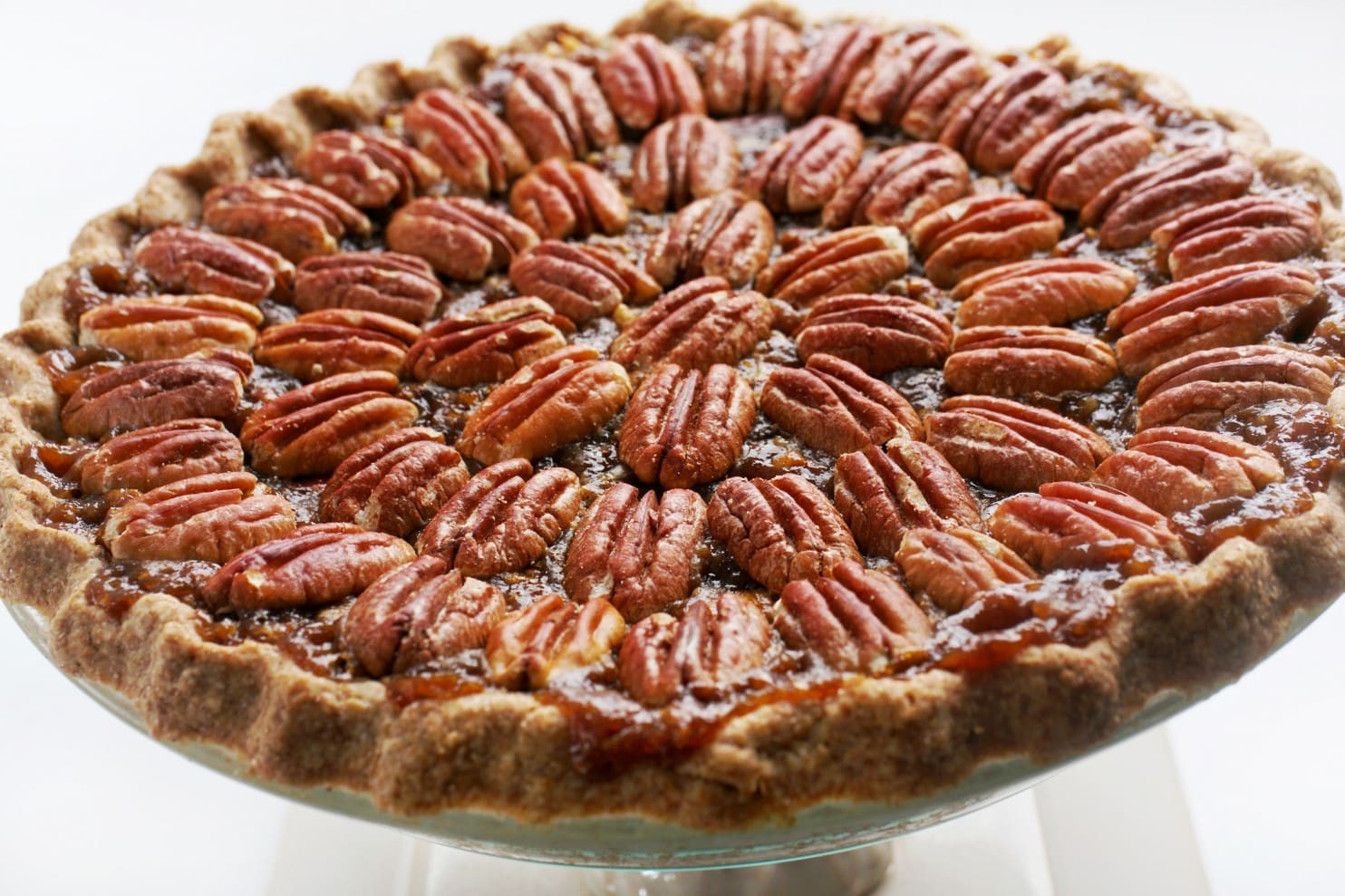 M&Ms Pecan Pie  The vegan holiday pie with a double dose of pecans and a
