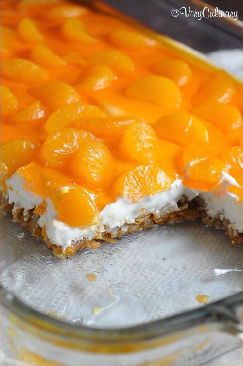 Mandarin Orange Jello Dessert  Mandarin Orange Pretzel Dessert