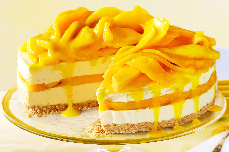 Mango Dessert Recipes  easy mango cheesecake recipe