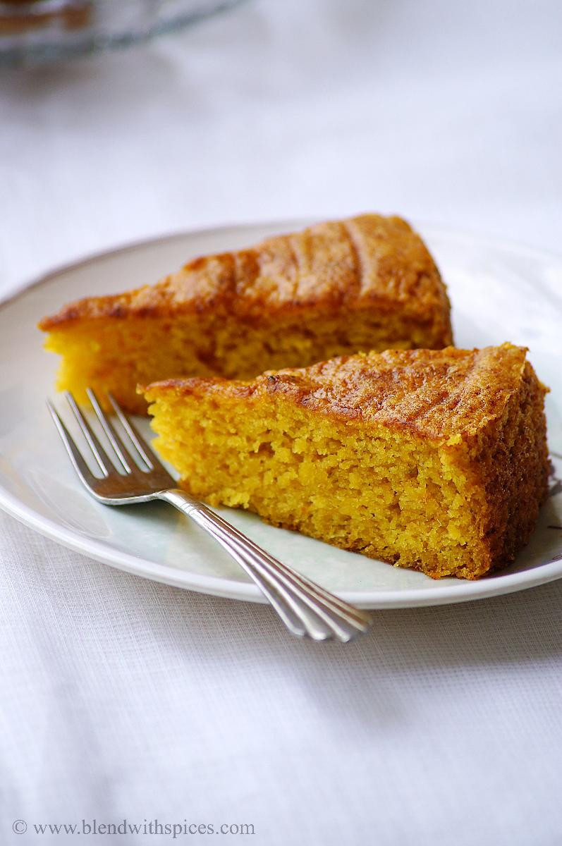 Mango Dessert Recipes  Vegan Mango Cake Recipe Eggless Mango Cake Recipe Step