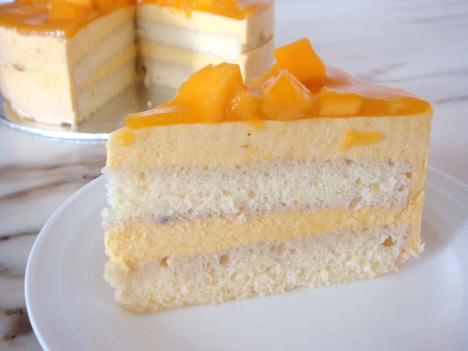 Mango Dessert Recipes  Mango Cake Recipe Easy Dessert Recipes
