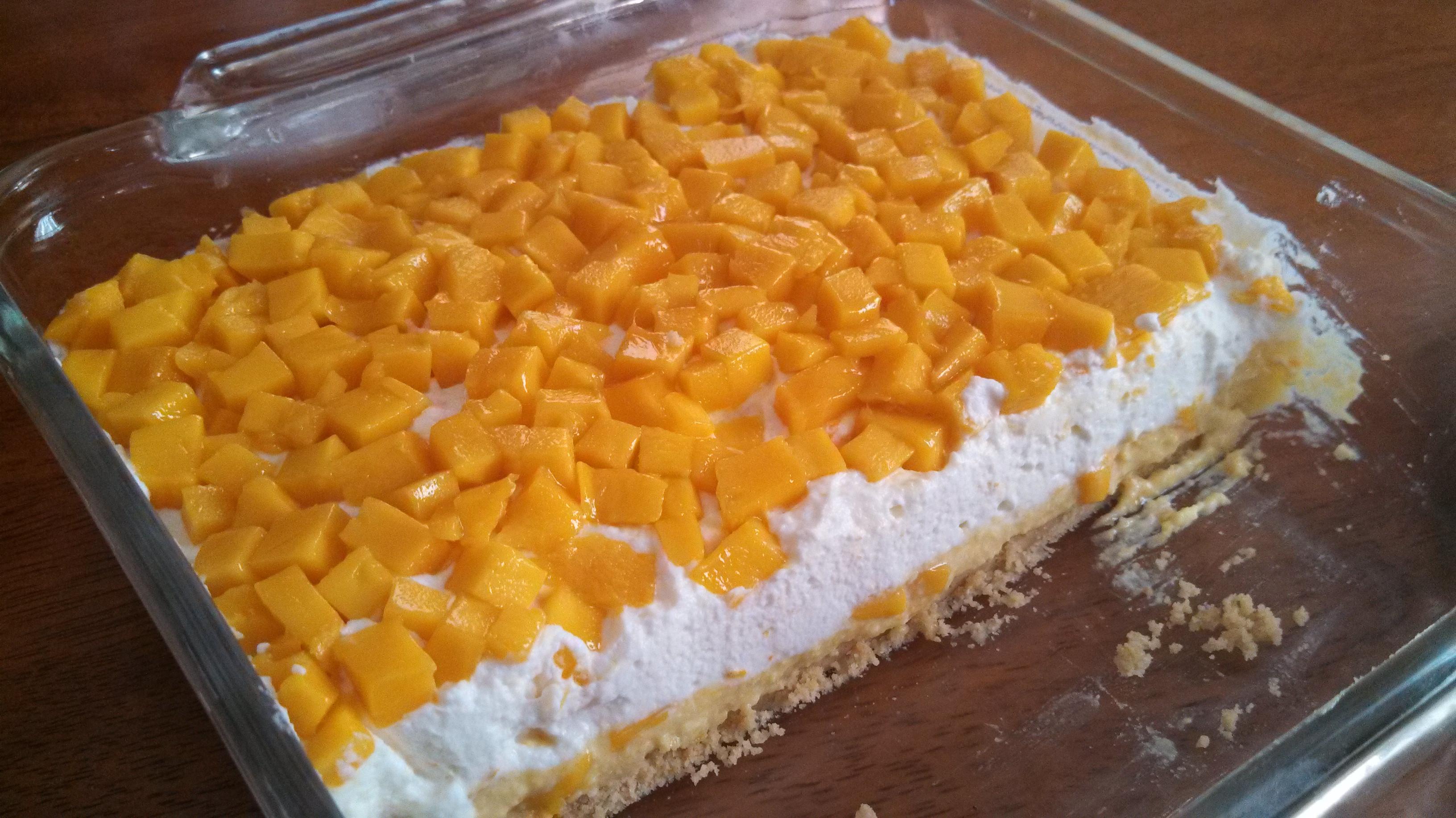 Mango Dessert Recipes  No Bake Mango Delight