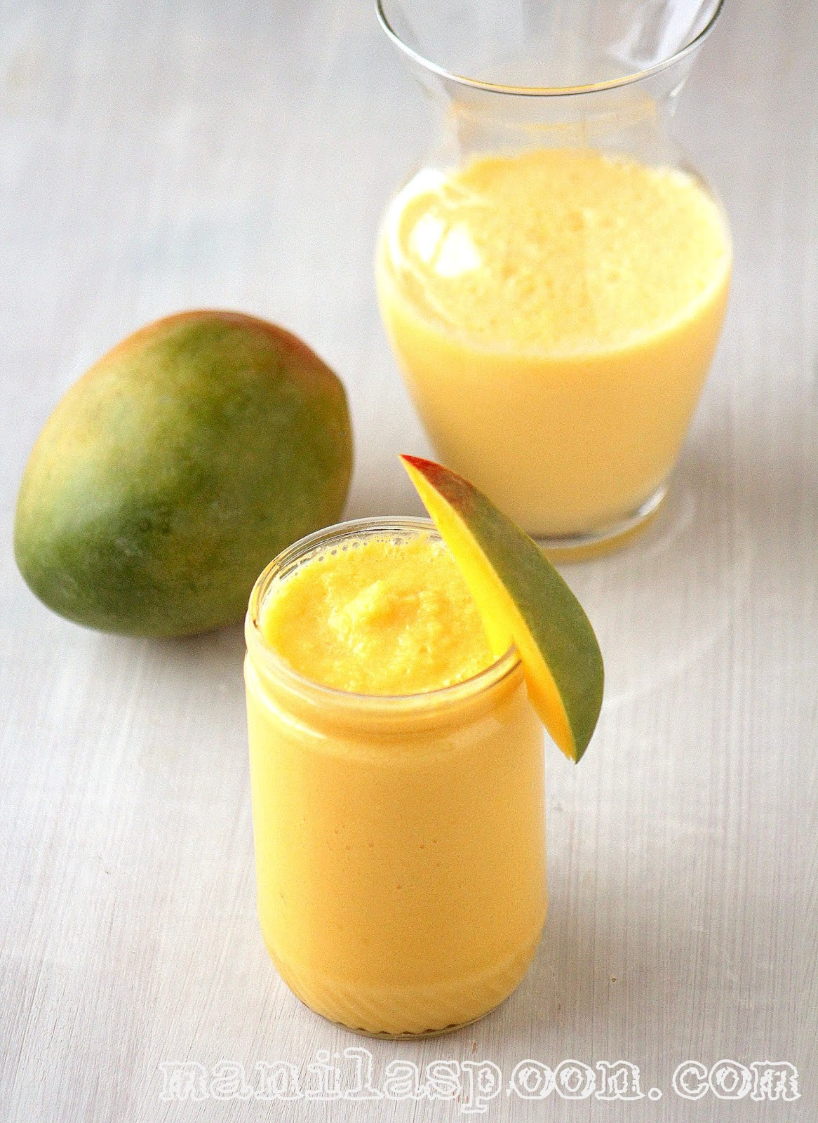 Mango Smoothie Recipes  green mango smoothie recipe