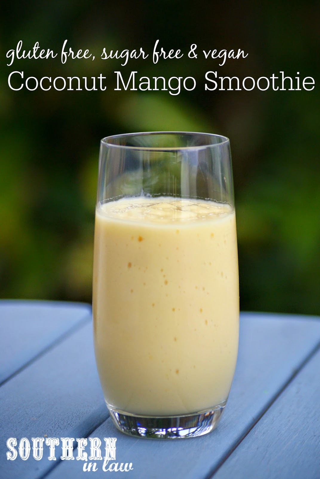 Mango Smoothie Recipes  Southern In Law Recipe Mango Coconut Smoothie