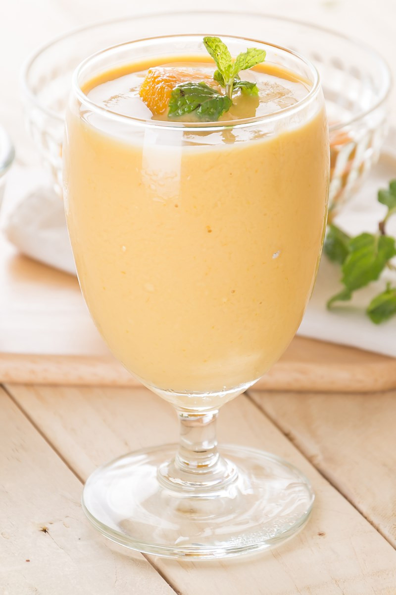 Mango Smoothie Recipes  Skinny Mango Banana Smoothie