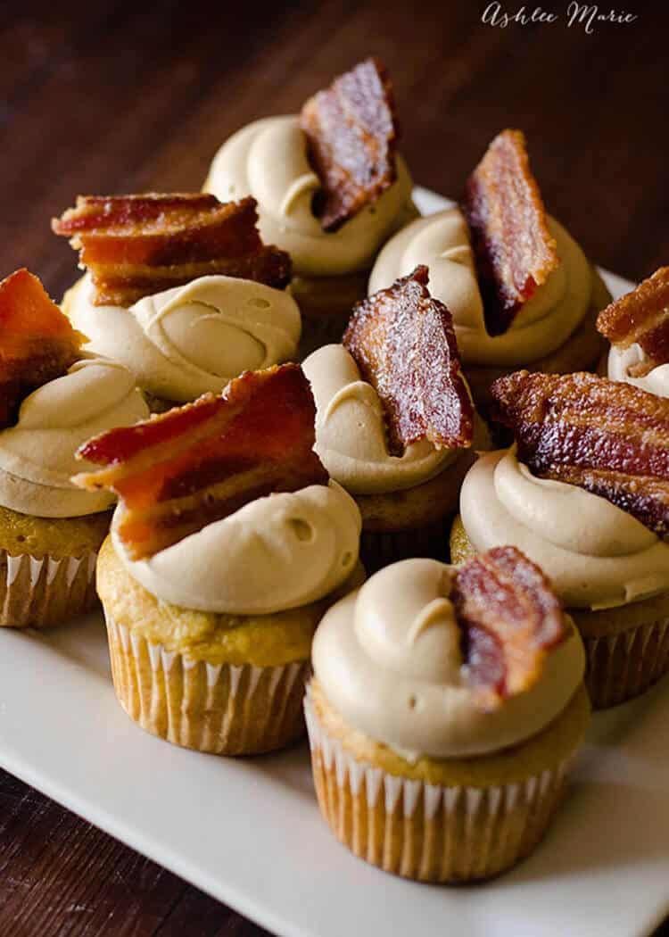 Maple Bacon Cupcakes  Maple Bacon Cupcakes