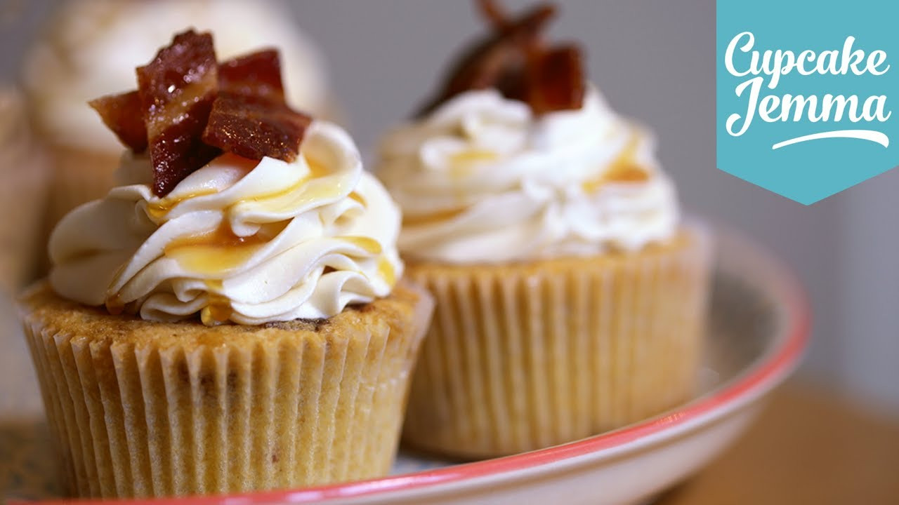 Maple Bacon Cupcakes  Maple & Bacon Cupcake Recipe