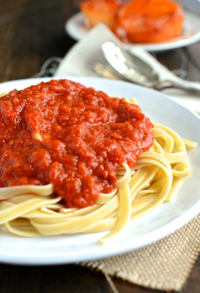 Marcella Hazan Tomato Sauce  Marcella Hazan s Tomato Sauce with Butter and ion