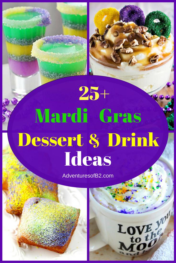 Mardi Gras Desserts  25 Mardi Gras Dessert & Drink Ideas Adventures of B2