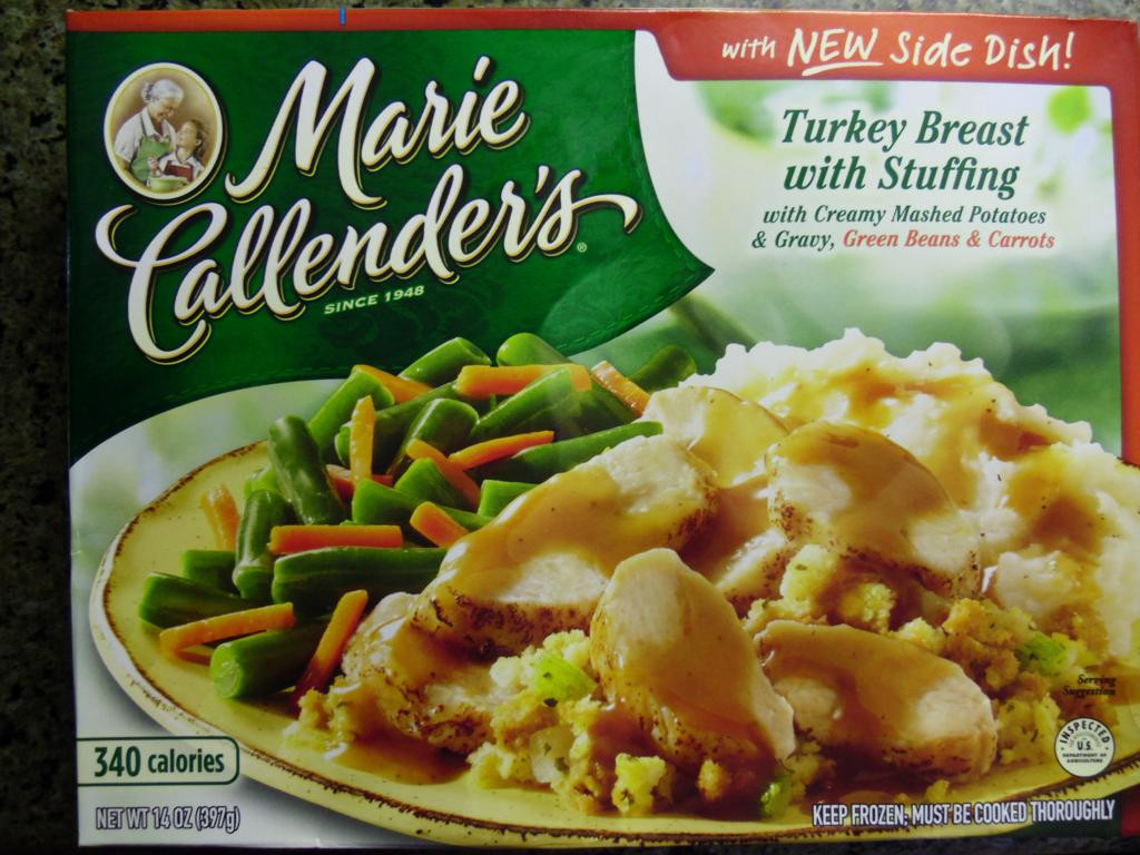 Marie Callender S Frozen Dinners  Marie Callender s Turkey Breast with Stuffing Review
