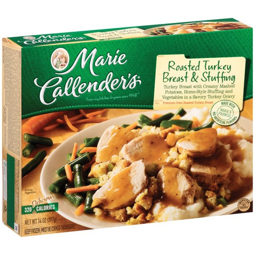 Marie Callender S Frozen Dinners  Marie Callender s Frozen Dinner Roasted Turkey Breast