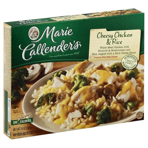 Marie Callender S Frozen Dinners  Marie Callender s Frozen Dinner Cheesy Chicken & Rice 13