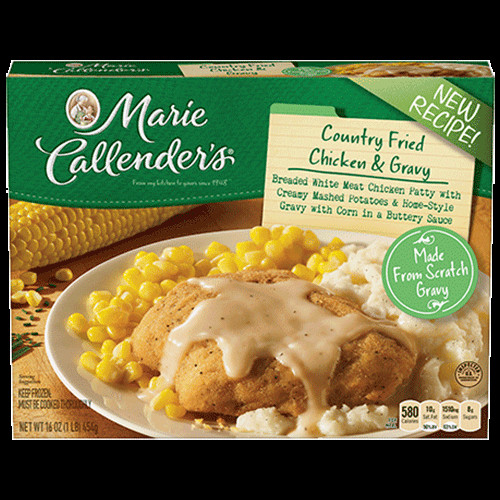 Marie Callender S Frozen Dinners  Country Fried Chicken & Gravy