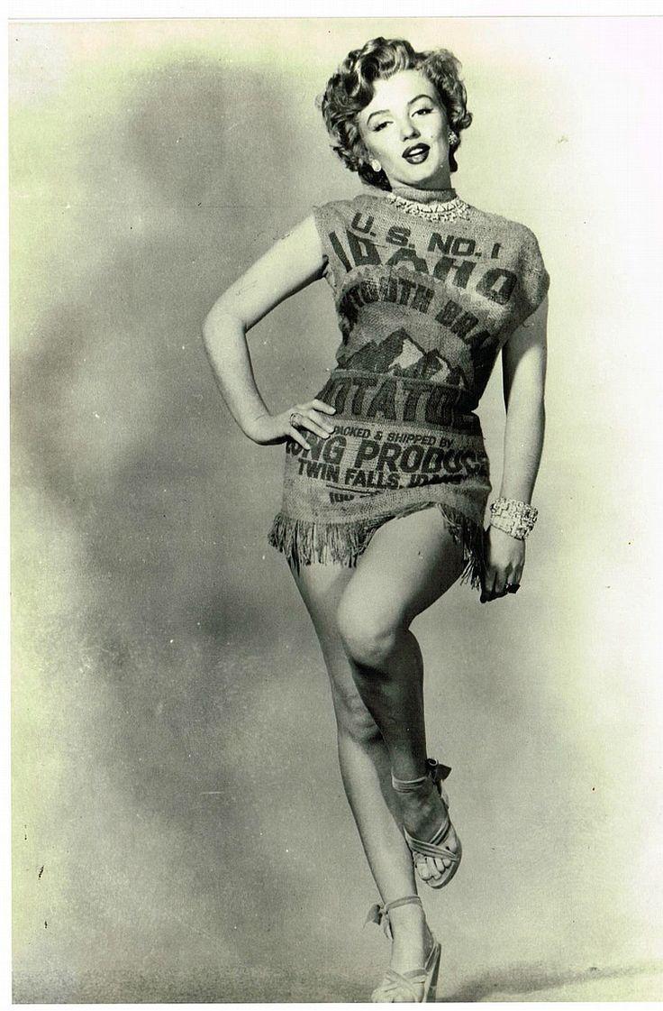 Marilyn Monroe Potato Sack  17 Best images about marilyn monroe wine bottle on