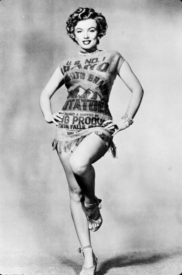 Marilyn Monroe Potato Sack  Straight Outta Boise Guide to Idaho cultural history