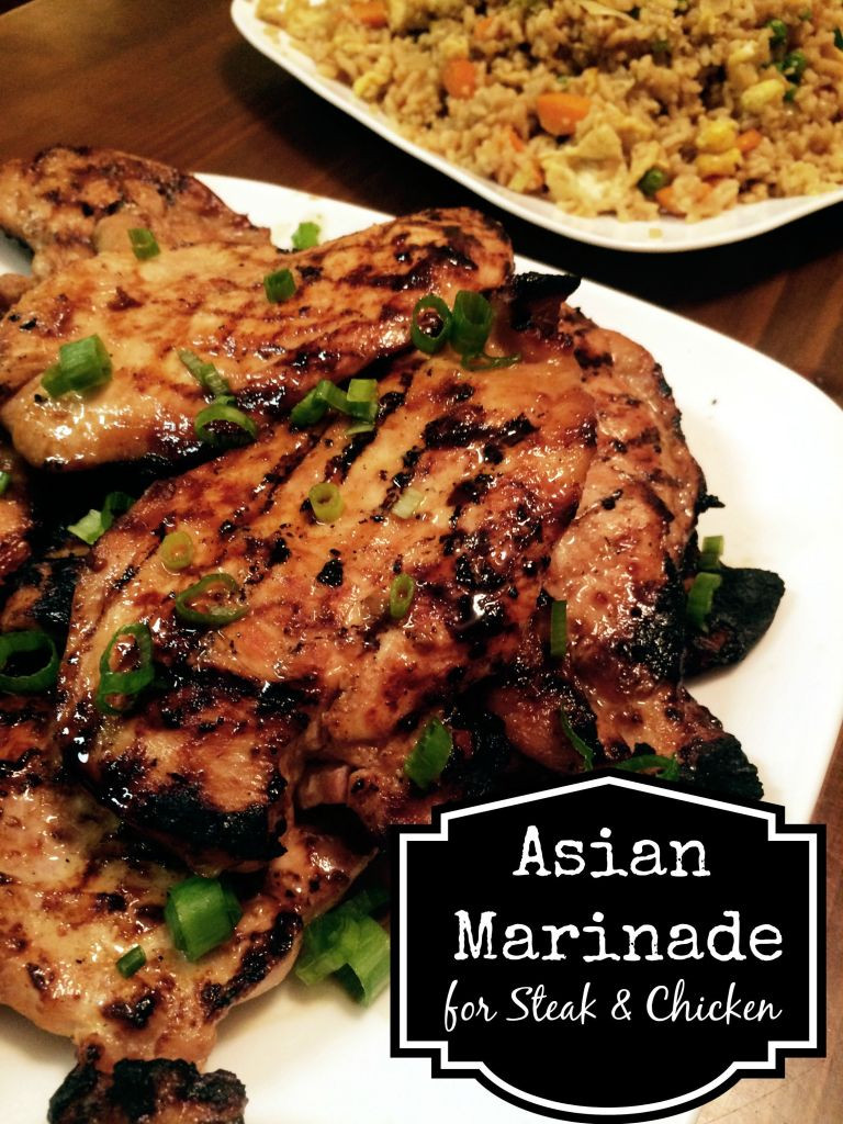 Marinades For Chicken  Asian Marinade for Chicken & Steak Aunt Bee s Recipes
