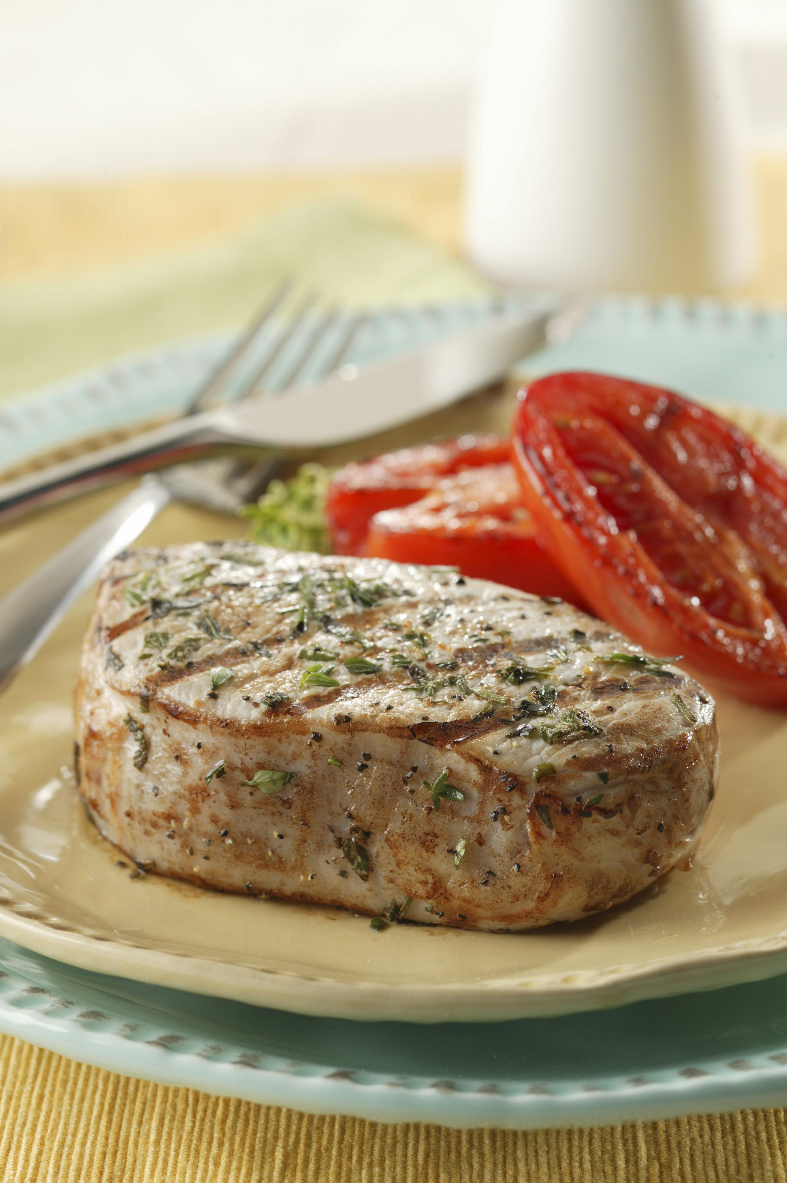 Marinate Pork Chops  Herbed Marinated Pork Chops Pork Recipes Pork Be Inspired