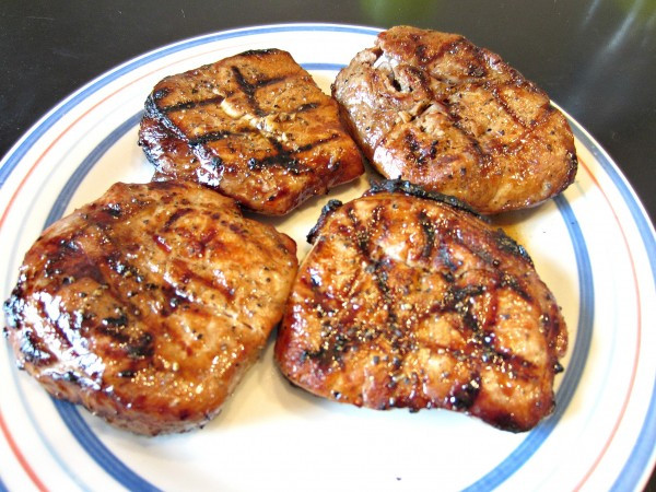 Marinate Pork Chops  Marinated Grilled Pork Chops Love to be in the Kitchen