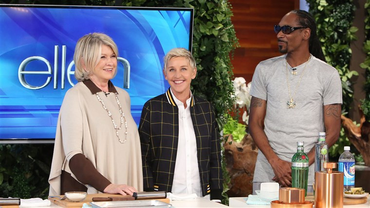 Martha & Snoop'S Potluck Dinner Party  Martha Stewart loves to cook with Blake Lively Jimmy