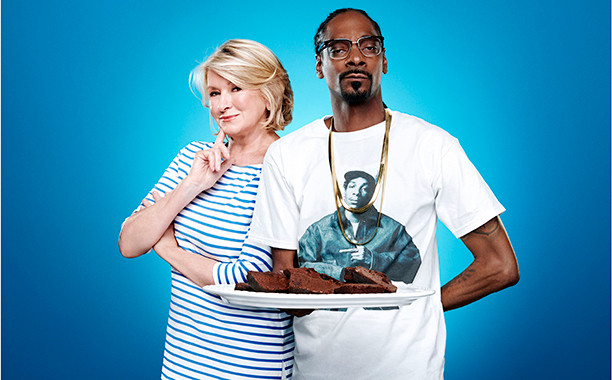 Martha & Snoop'S Potluck Dinner Party  Snoop Dogg and Martha Stewart on their new reality series