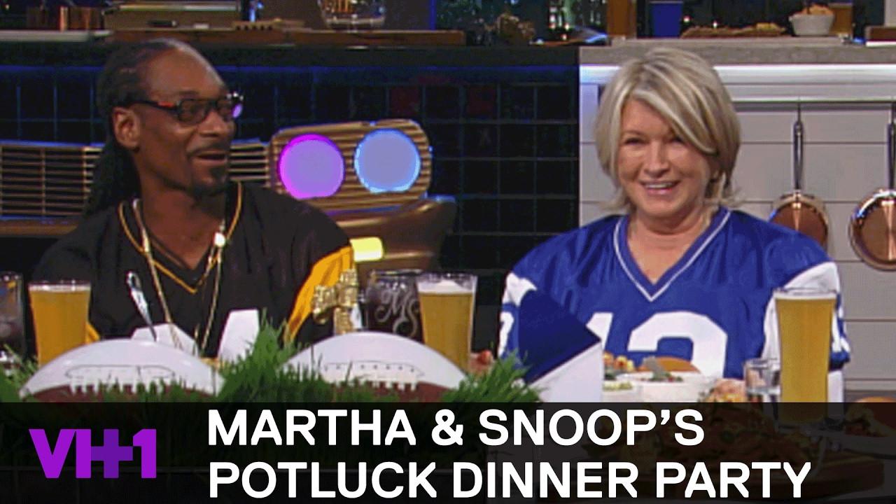 Martha & Snoop'S Potluck Dinner Party  Snoop Dogg Wants Rihanna & Martha Chooses Mark Zuckerberg