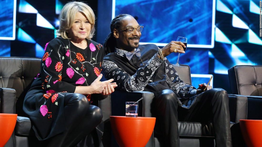Martha & Snoop'S Potluck Dinner Party  Martha Stewart on dating and ting Snoop drunk CNN