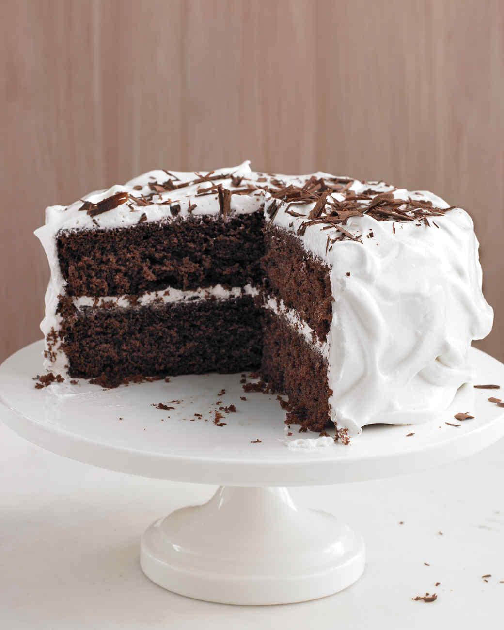 Martha Stewart Chocolate Cake  Chocolate Cake Recipes