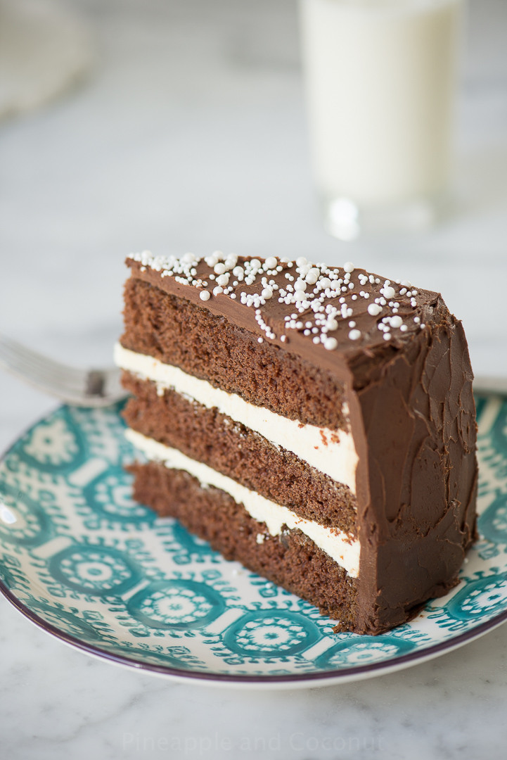 Martha Stewart Chocolate Cake  Chocolate Cake and Martha Stewart Pineapple and Coconut
