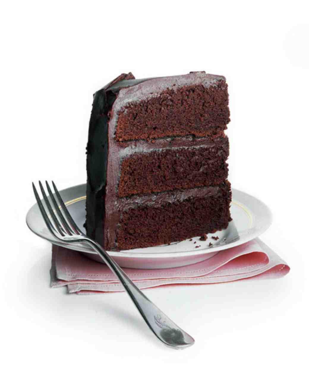 Martha Stewart Chocolate Cake  Mrs Milman s Chocolate Frosting Recipe & Video