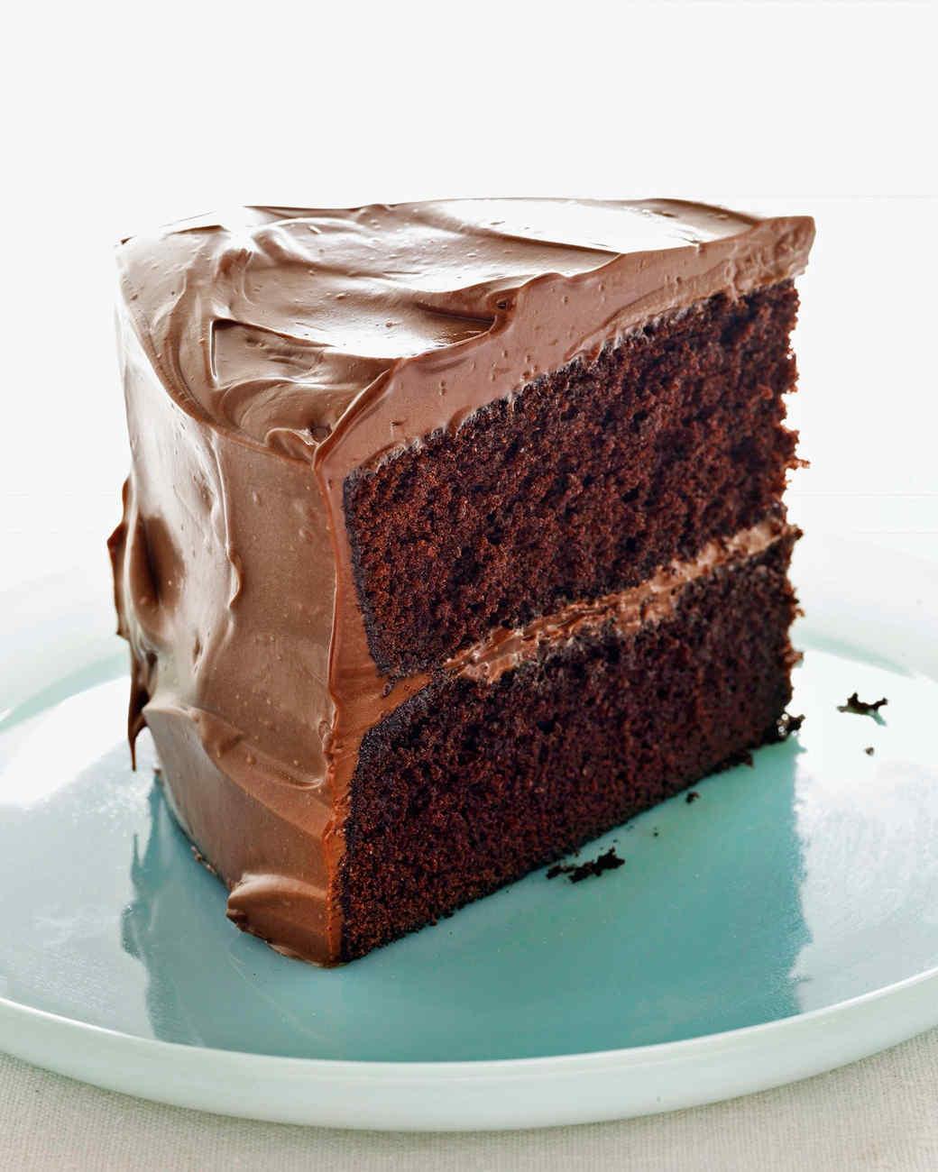 Martha Stewart Chocolate Cake  Devil s Food Cake with Milk Chocolate Frosting