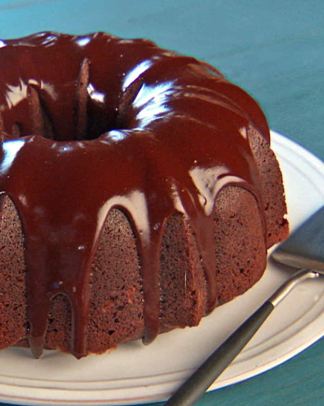 Martha Stewart Chocolate Cake  Dolly s Chocolate Bundt Cake Recipe & Video