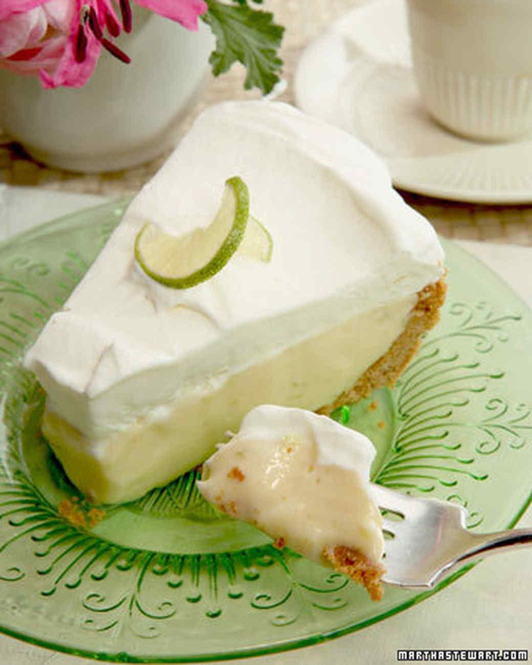 Martha Stewart Key Lime Pie  Frozen Key Lime Pie Recipe & Video